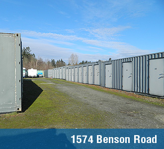 Point Roberts Mini Storage - 1574 Benson Rd.